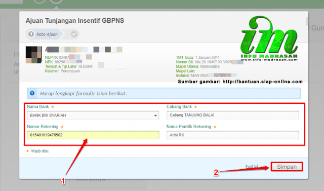 Cara Ajuan Tunjangan Insentif GBPNS di SIMPATIKA