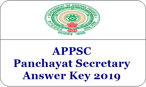 APPSC Panchayat Secretary Answer Key 2019 APPSC Panchayat Secretary Answer Key 2019 – Some unofficial sources have released the answer key of APPSC Panchayat Secretary 2019 for Prelims exam held on April 21. Through the APPSC Panchayat Secretary answer key 2019 can be checked from the links below. Apart from the unofficial answer key, Andhra Pradesh Public Service Commission (APPSC) will publish the answer key of APPSC Panchayat Secretary in the pdf format shortly.APPSC Group 3 Panchayat Secretary answer key 2019 (Prelims) for SET A, B, C, D released unofficially | APPSC Panchayat Secretary Answer Key 2019