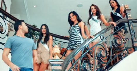 Emin music video: Ariella Arida walks down the stairs