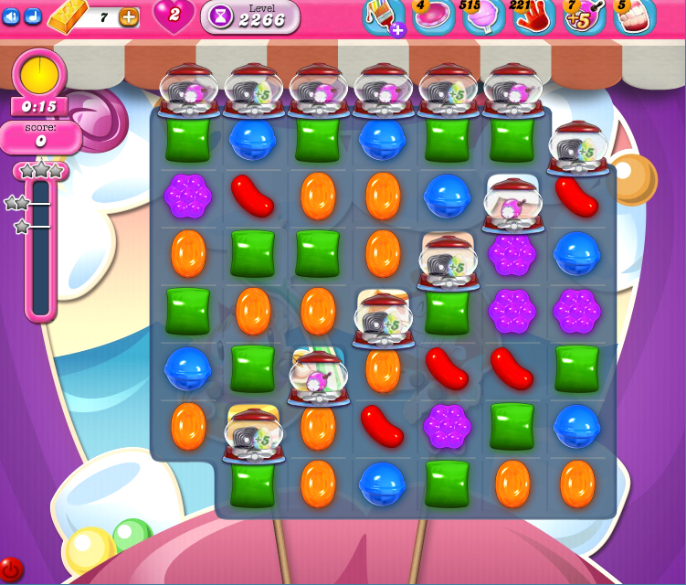 Candy Crush Saga level 2266