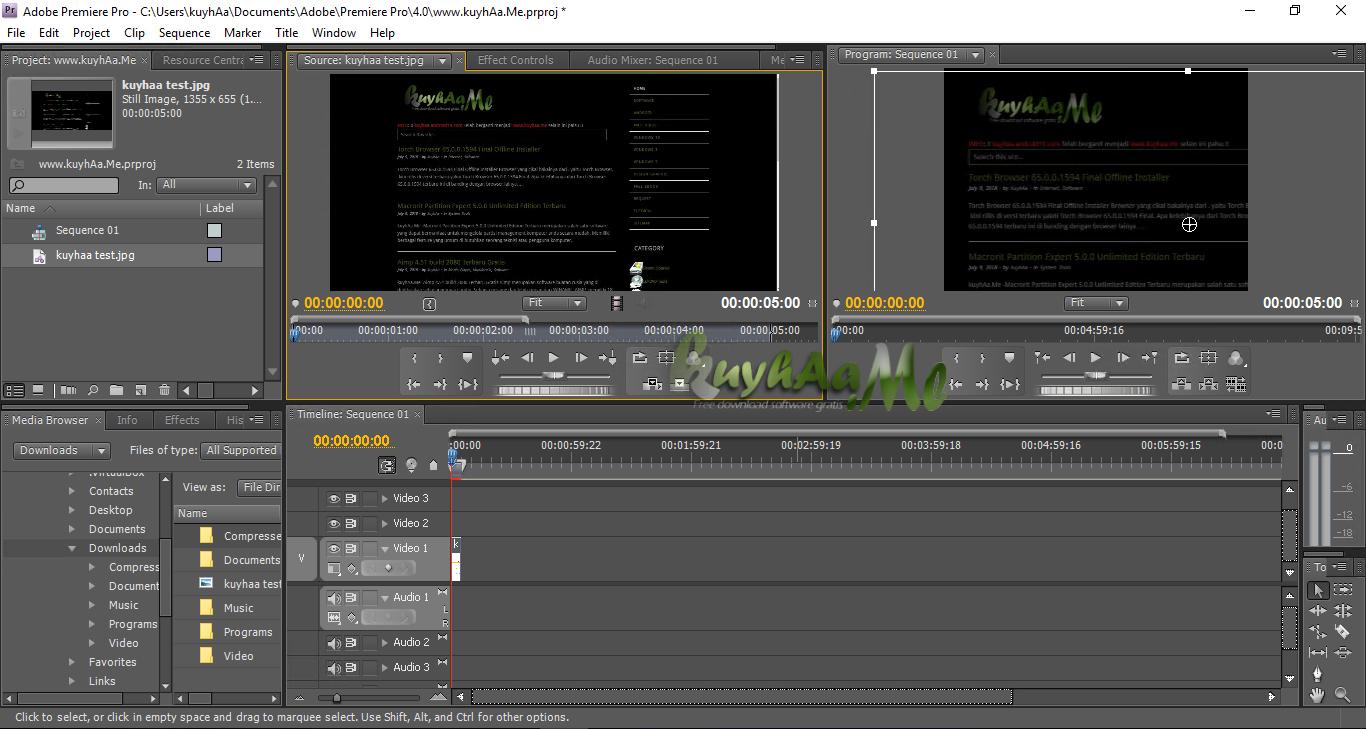 Adobe Premiere Pro CS4