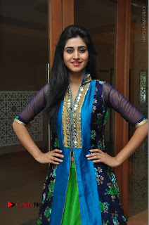 Actress Model Shamili Sounderajan Pos in Desginer Long Dress at Khwaaish Designer Exhibition Curtain Raiser  0046.JPG