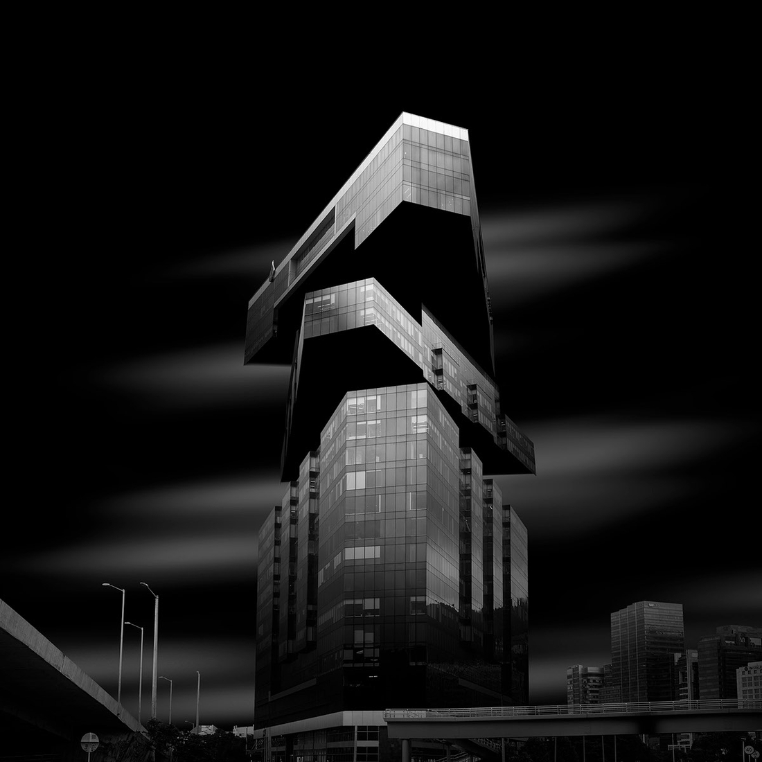 10-Daniel-Garay-Arango-Black-and-White-Surreal-Photographs-Architectural-Deconstruction-www-designstack-co
