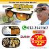 HD Vision - Wrap Arounds -  Sesuai untuk Mata Silau Ketika Memandu.