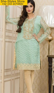 Veena Durrani Formal Tunics 2017