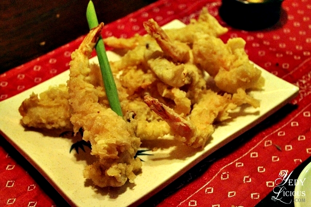 Tempura at Kalui Restaurant Best Restaurants in Puerto Princesa Palawan Philippines YedyLicious Manila Food and Travel Blog