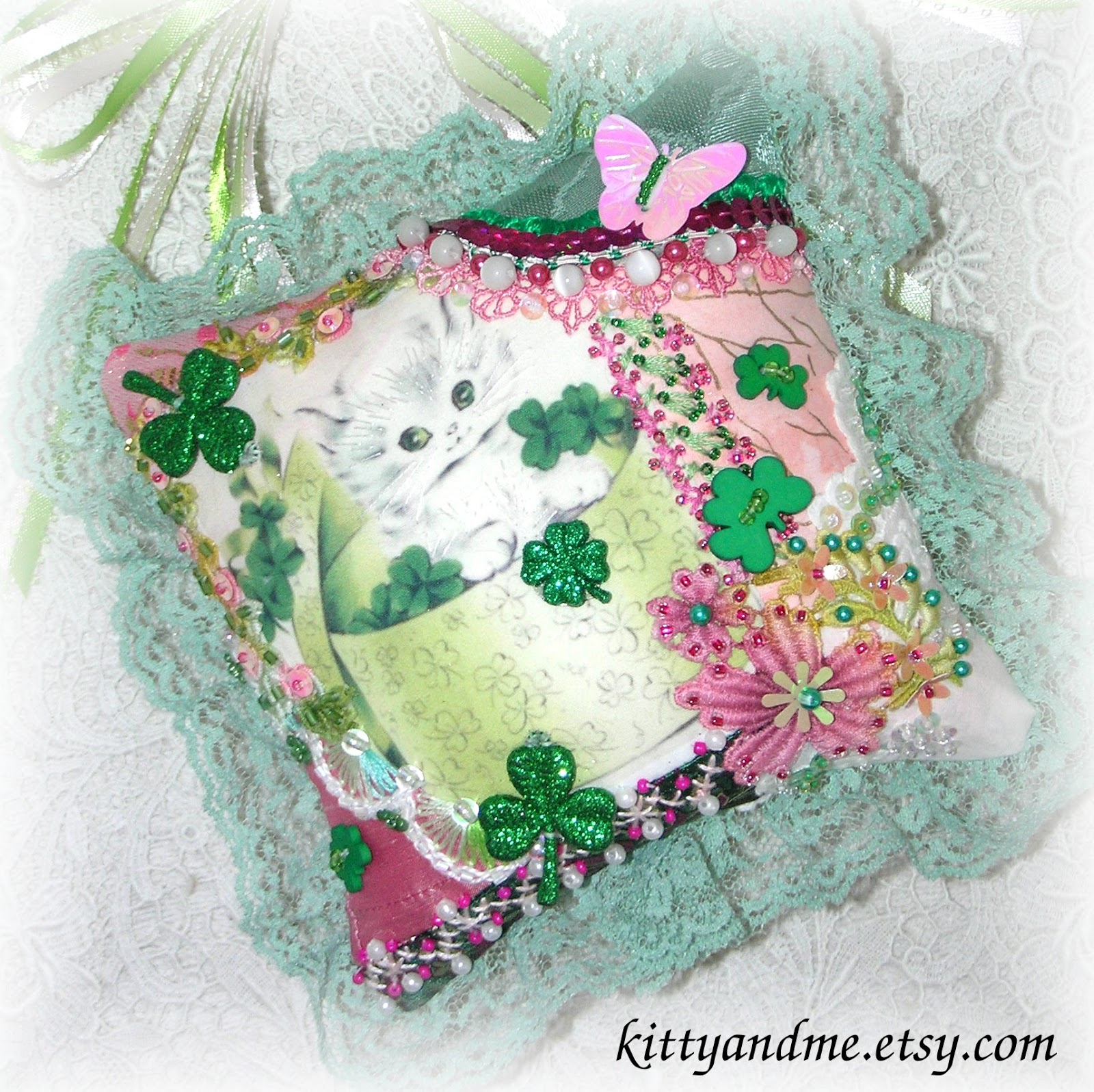 Tgf Decoration Kitty And Me Designs Handmade St Patricks Day Decor