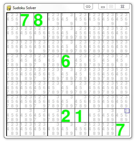 Trevor Appleton: Guide to Creating a Sudoku Solver using