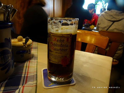 Γερμανική καπνιστή μπύρα Rauchbier /Bavarian Beer