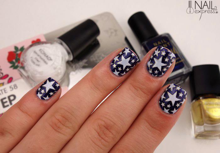 Moyra nail stamping plate 58 step by step_manikira