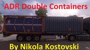 ADR Double Containers by Nikola Kostovski