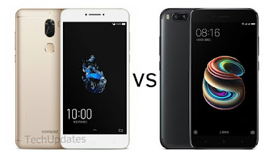 Coolpad Cool Play 6 vs Xiaomi Mi 5X