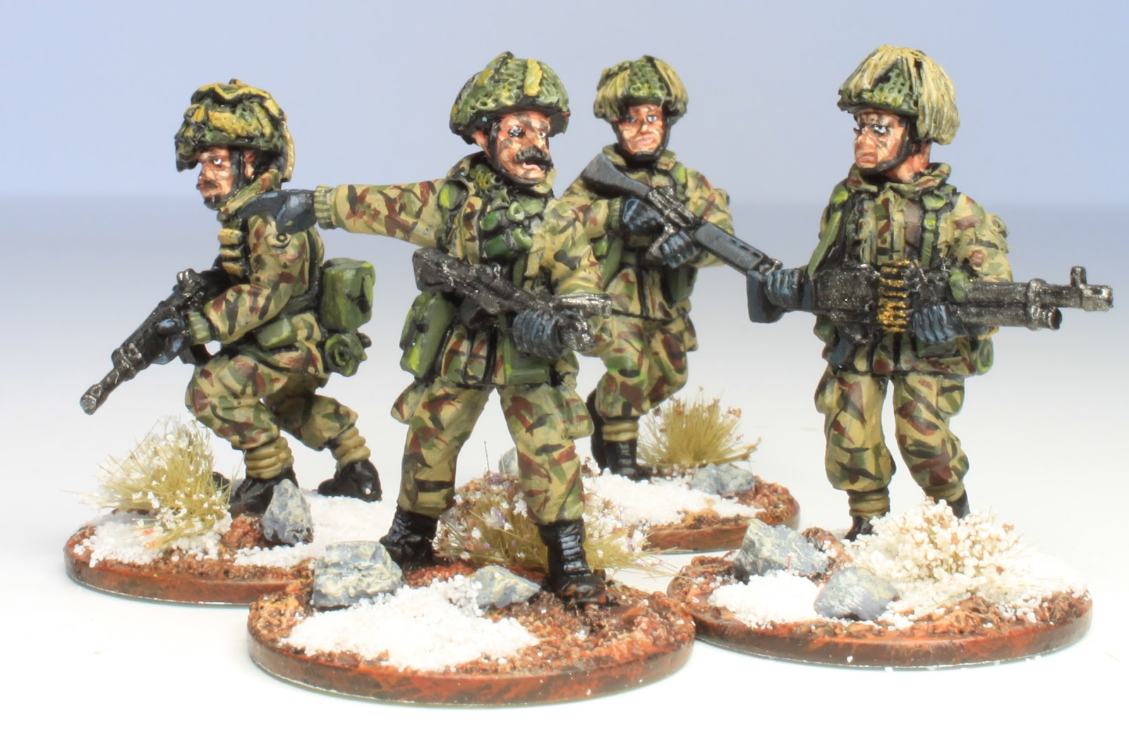 28mm Victorian Warfare: 28mm Falklands War British