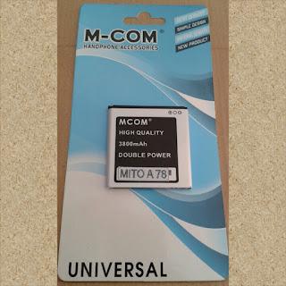 Baterai Double Power Mito A78 MCOM