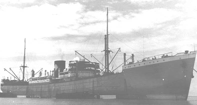 10 March 1941 worldwartwo.filminspector.com freighter Reykjaborg