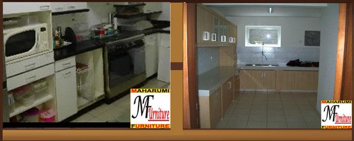 Custom Setting Interior Furniture Kitchen Set