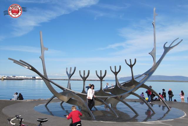 Solfar o Barca del Sol en Reykjavík