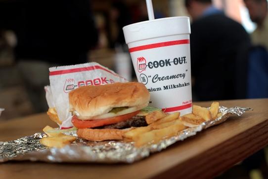 Cookout Fast Food Burger