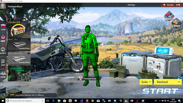 rules of survival obs