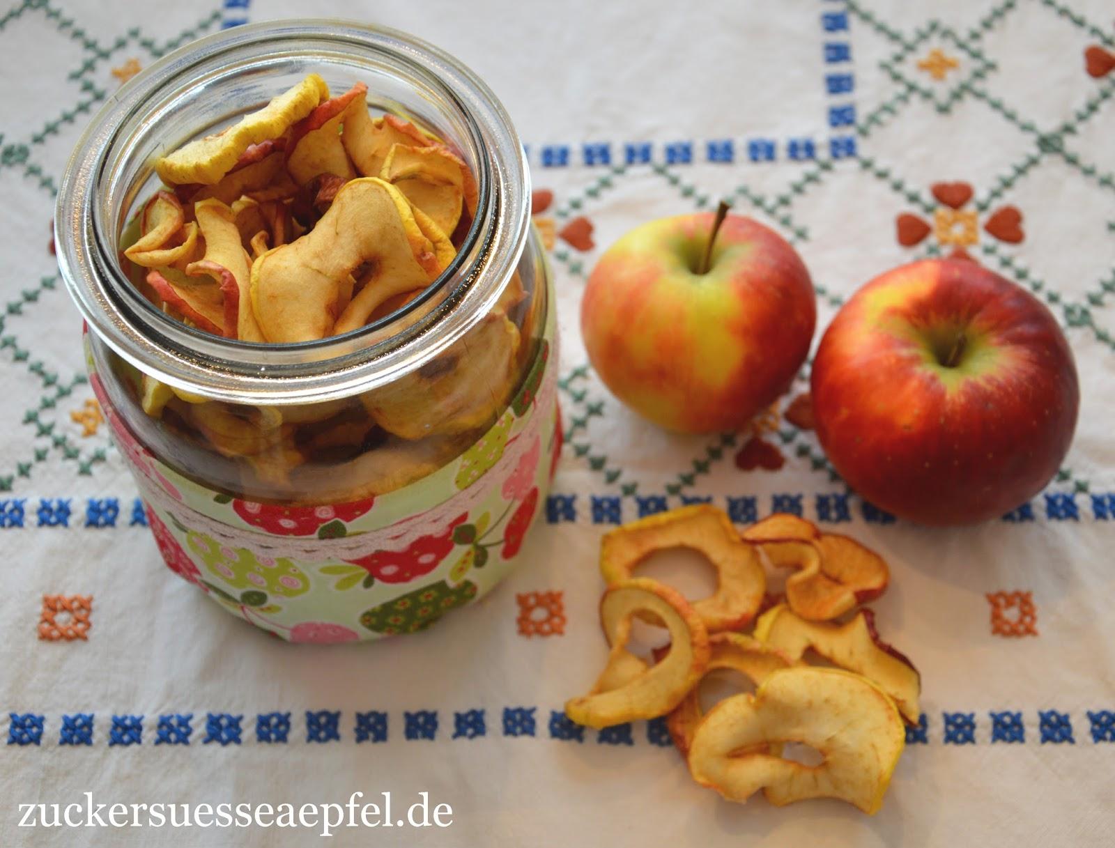 Favorit Getrocknete Apfel- und Birnenringe selber machen | ♥ Zuckersüße IB75