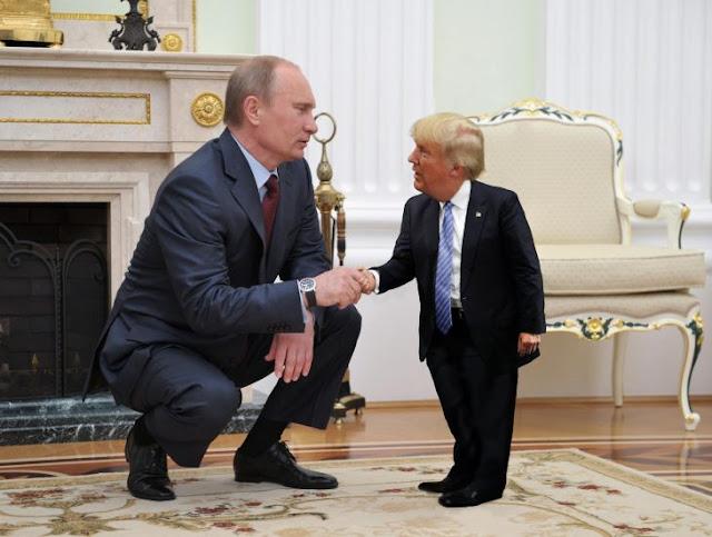 """Putin el macho: """"Yo no tengo días malos porque no soy mujer"""""""