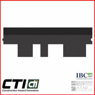 Atap Bitumen CTI Type CT5