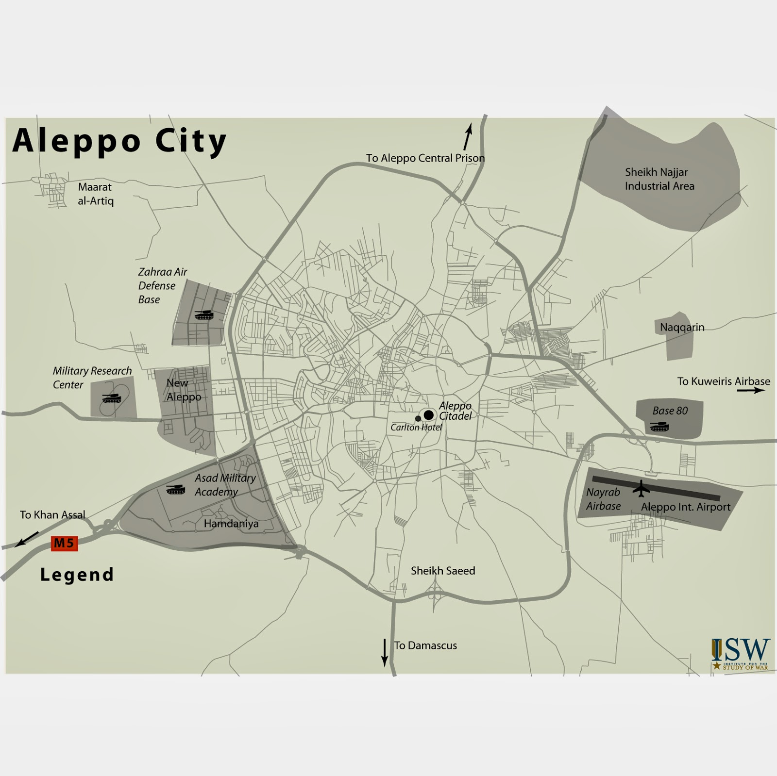 ISW Blog: The Siege of Aleppo?