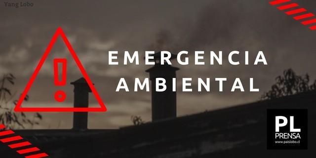 ⚠️Osorno: Emergencia Ambiental para este 22 de mayo