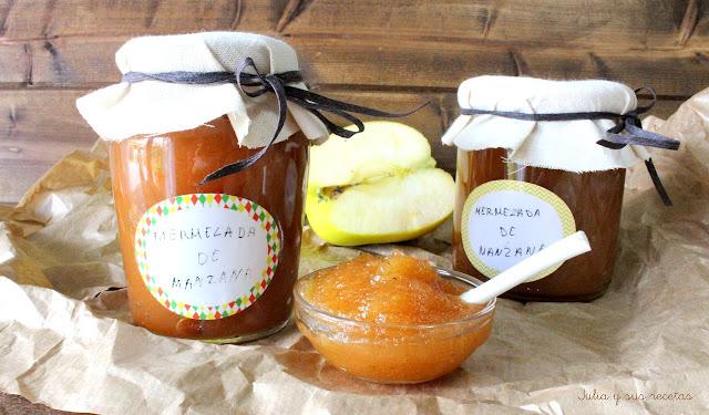 Mermelada de manzana a la canela. Julia y sus recetas