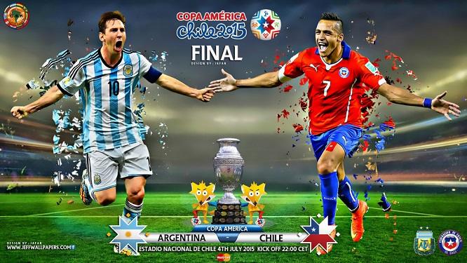 Argentina y Chile se medirán en la final