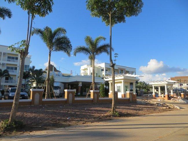 постройка отеля краби таун