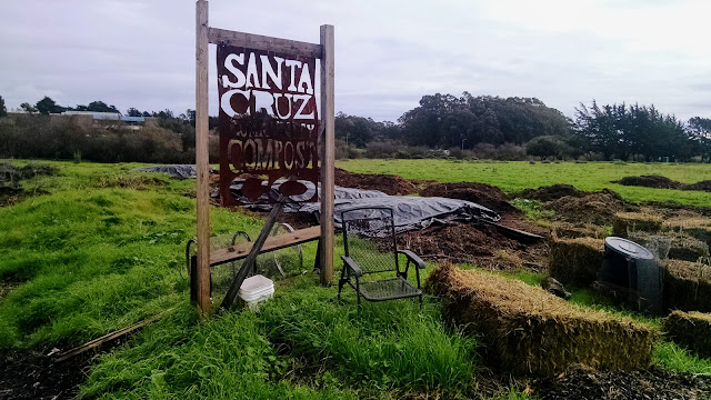 Santa Cruz Community Compost at the Homeless Garden Project farm