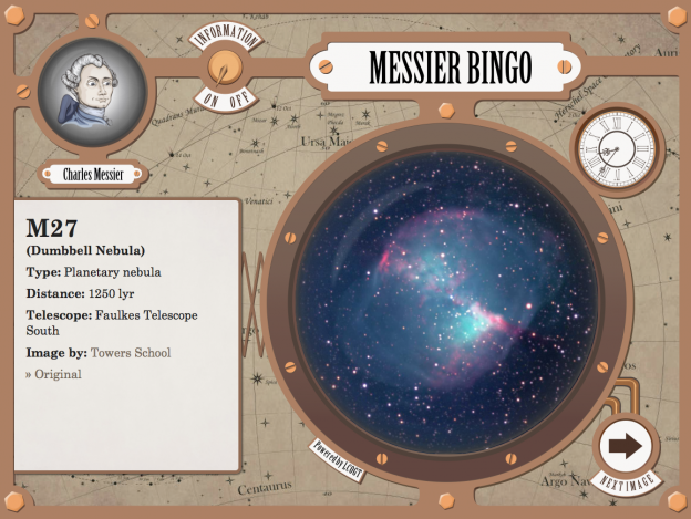 Image of Play Bingo with Charles Messier