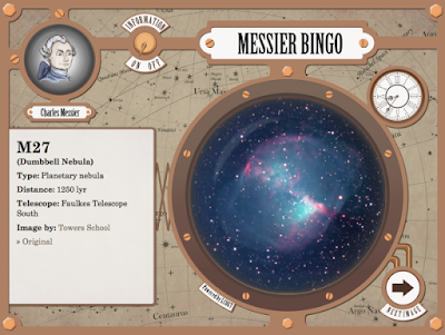 Play Bingo with Charles Messier