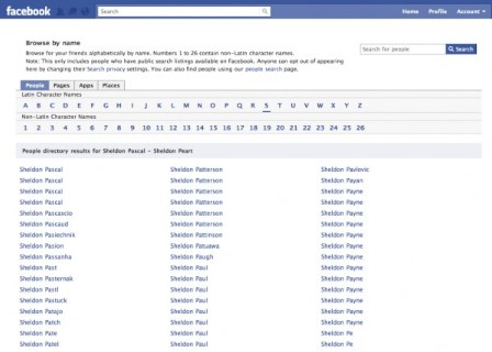 Is there a way to search Facebook without logging in