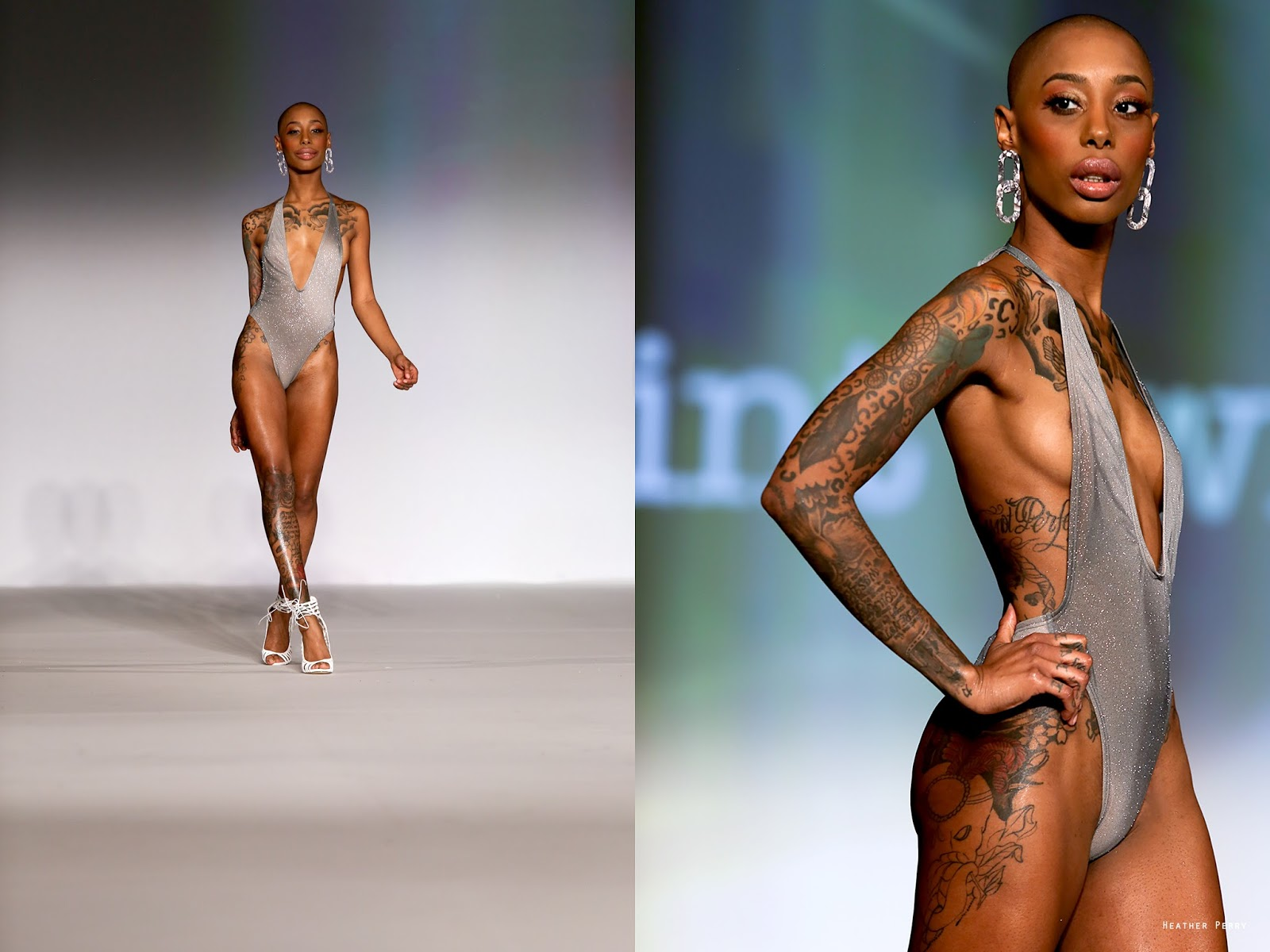 bed233f49f9 New York Fashion Week, Mint Swim by Draya Michele / VINTAGE SLANG