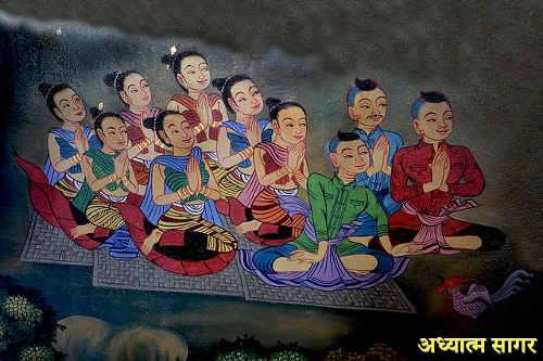 spiritual discussion in on dosha darshan hindi me