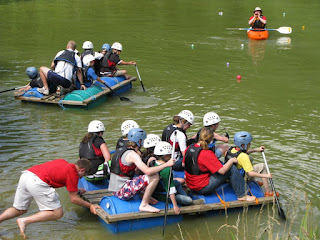Rafting at X-treme Camp 2011