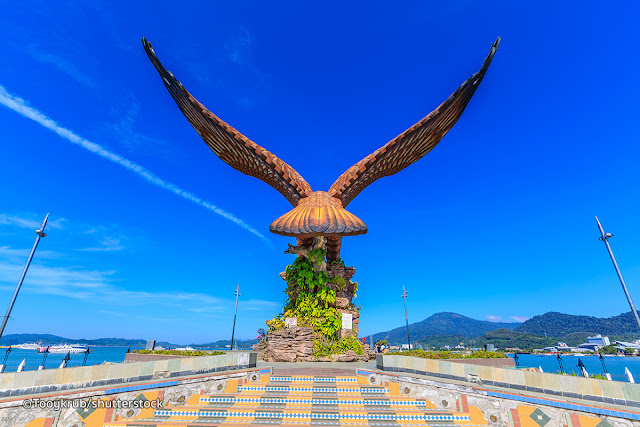 PBT Gesa Roboh Patung Helang di Langkawi