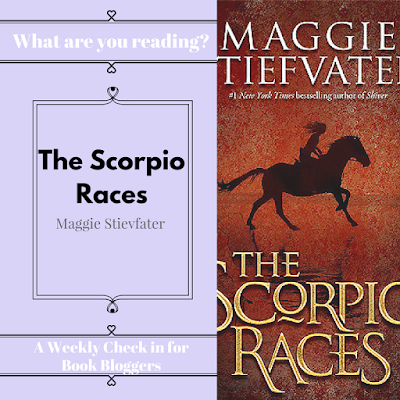 What are you reading Wednesdays on Reading List - The Scorpio Races by Maggie Stievfater