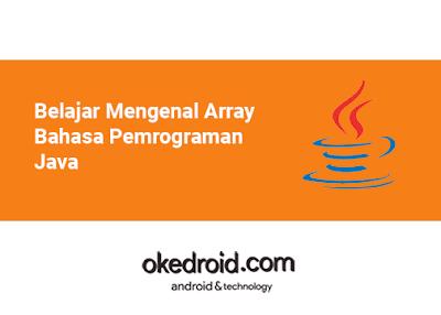 Belajar Mengenal Array Bahasa Pemrograman Java