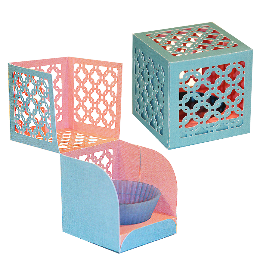 samantha walker 39 s imaginary world silhouette tutorial cup cake box for 8 5 x 11 portrait users. Black Bedroom Furniture Sets. Home Design Ideas