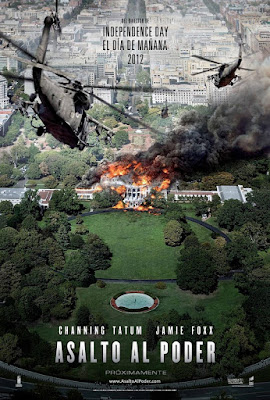 White House Down 2013 DVD R1 NTSC Latino + CD