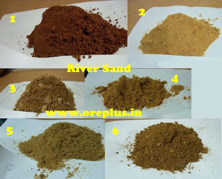 River Sand of all sizes and quality