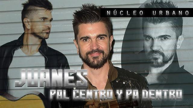 Juanes lanza su propuesta de música urbana, PAL CENTRO Y PA DENTRO.