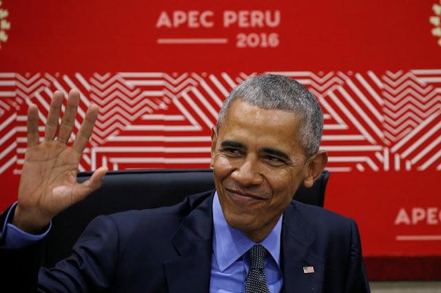 Salam Terakhir Obama di Gedung Putih