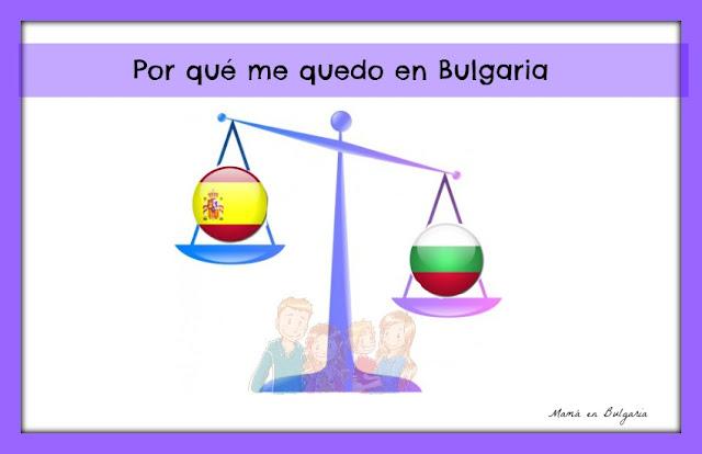 Elegir país España o Bulgaria expatriada