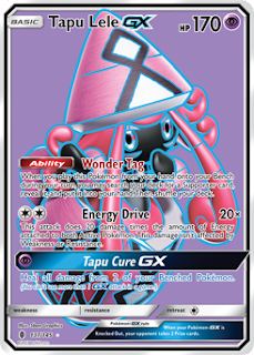 Tapu Lele GX Guardians Rising Pokemon Card