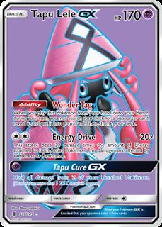 Tapu Lele GX Guardians Rising Pokemon Card