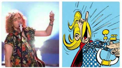 Manel Navarro el bardo de Asterix